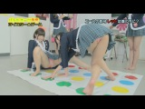 Sexy Funny Game Show - Christine, Rika Hoshimi, Sakaguchi Mihono, Sakura Playing Twister Game