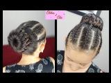 Diadema y DonaTrenzadas - Braided Headband/Bun | Peinados con Trenzas | Peinados para niñas