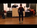 Jorjet Alcocer Dominican Bachata Footwork 5th HBF 2013
