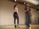 Troy and Jorjet Dominican Bachata workshop Vancouver International Salsa Festival 2011