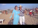 Перфоманс Владимира и Вероники на пляже