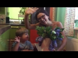 Эвелина Блёданс поздравляет меня с днем рождения!