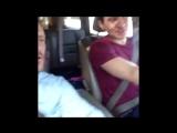 Как отцы учат своих сыновей водить машину