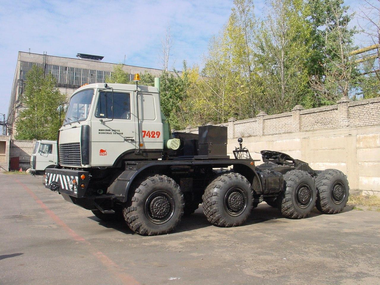 Технические характеристики МЗКТ-7429