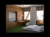 Дизайн интерьера в эко стиле. Эко спальня