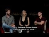Интервью Джен, Джоша и Лиама для «ANTENA 3 TV»