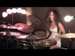 Барабаны Enter Sadman Metallica.mp4