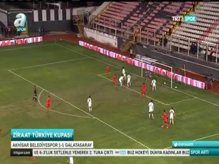Turkish cup-2015-16 akhisar b. 1-1 galatasaray