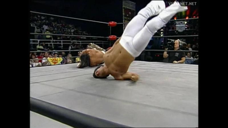 Sabu vs Disco Inferno, WCW Monday Nitro 31.10.1995