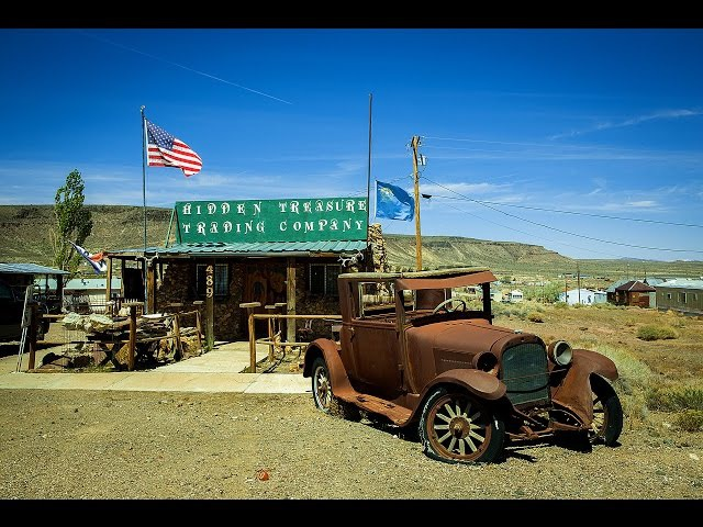 Город-призрак Голдфилд / Ghost town Goldfield / Забытая Америка 5