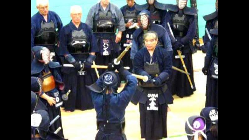 Waza against Jodan Masashi Chiba 8th dan
