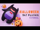 Halloween Bat Plushie Tutorial - Sorbet from Shining Hearts