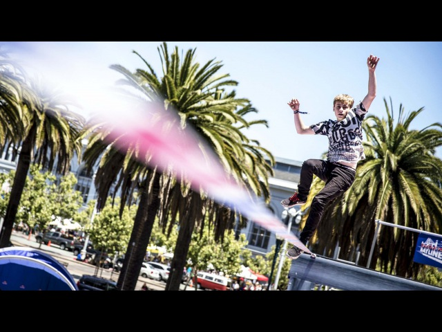 Highlining Meets Tricklining in San Francisco - Red Bull Baylines