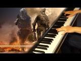 Call of Duty Modern Warfare 2 - Main Theme (Piano)