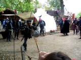 One legged sword fighter