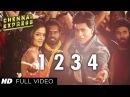 One Two Three Four Chennai Express Full Video Song Shahrukh Khan, Deepika Padukone