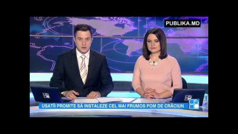 Laudă de la Renato Usatîi: Bradul de la Bălți va fi mai mare decât cel instalat în Piaţa Roşie