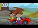 Увлекательное путешествие Лелика и Болика на автомобиле.