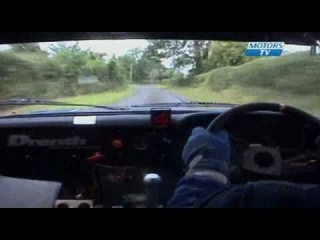 High-strung Irish Rally Co-Driver (screams pace-notes cusses :)
