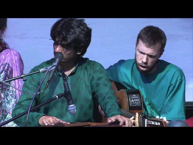 Bittu MallickБитту Маллик Hare Krishna Харе Кришна Moscow, may12