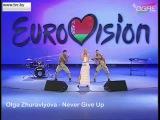 ESC 2016 Belarus - Olga Zhuravlyova - Never Give Up (National Selection)