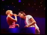 Kylie Minogue and Nick Cave - Backstage and Performance @ BDO 96