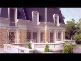 Большой загородный дом в стиле рококо