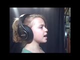 Hurt-Christina Aguilera Cover sung by Noelle (age 9)