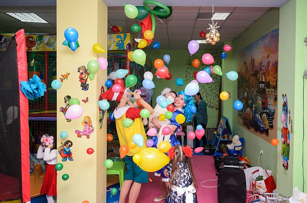 Буратино и Мальвина на детский день рождение в Севастополе.
