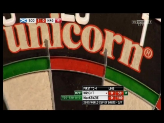 Scotland vs Hong Kong (PDC World Cup of Darts 2015 / Quarter Final)