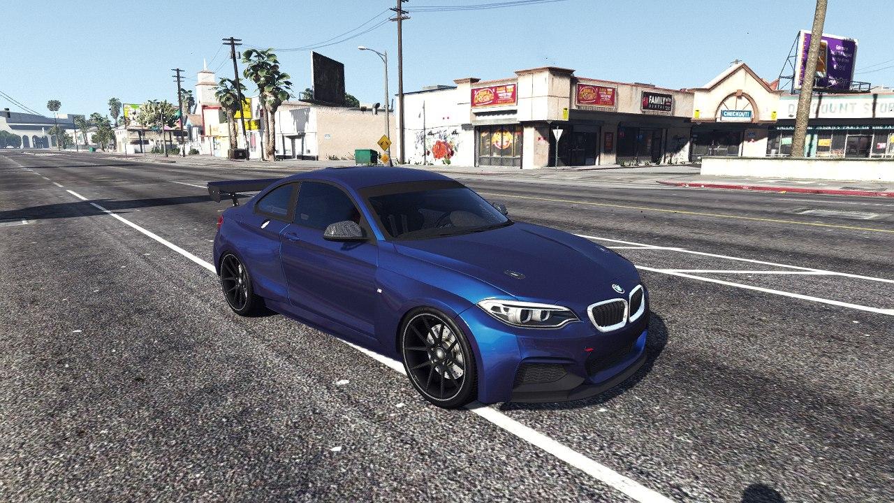 2014 BMW 235i F22 для GTA V - Скриншот 1