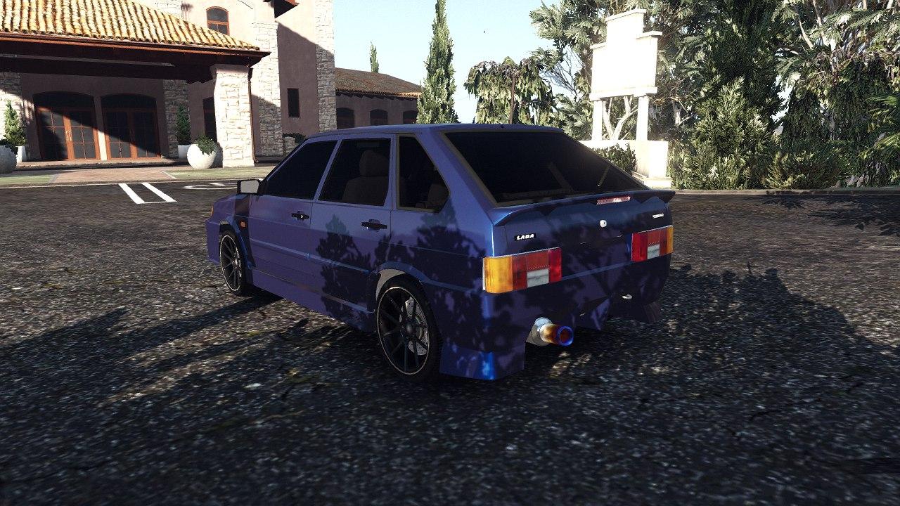 ВАЗ 2114 для GTA V - Скриншот 3