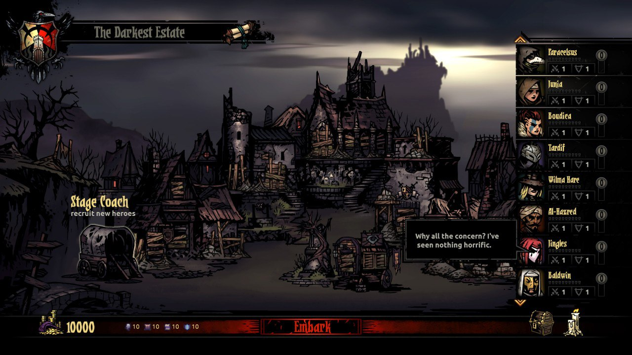 Darkest Dungeon (2016) PC - Скриншот 3