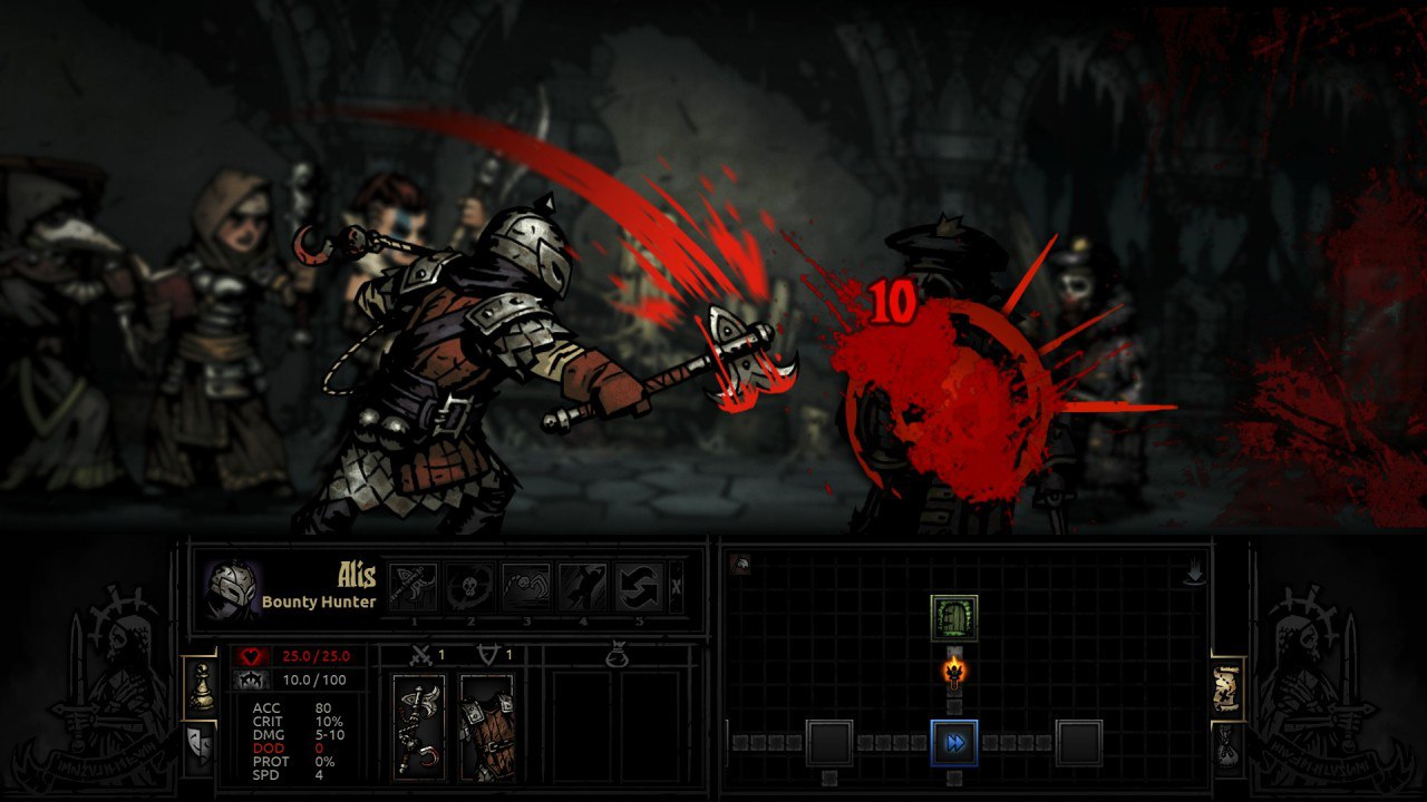 Darkest Dungeon (2016) PC - Скриншот 1