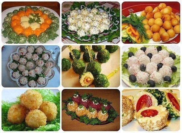 Рецепты с салатов к праздничному столу
