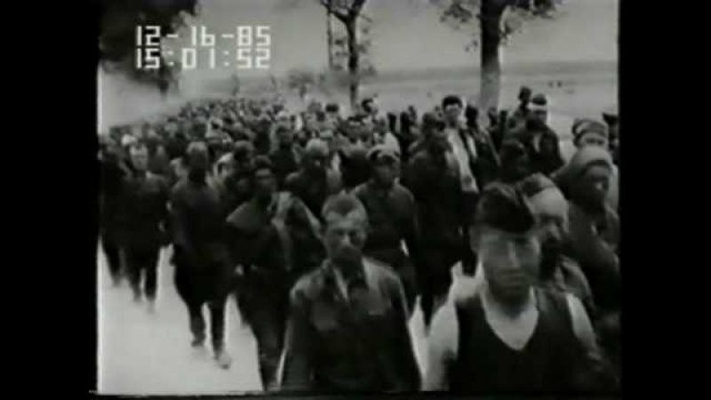 Mogilev Smolensk 1941 Немецкие Хроники