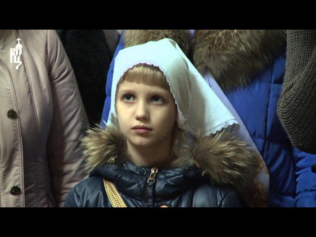 В понедельник 1-й седмицы Великого поста Патриарх Кирилл молился в Николо-Угрешс...
