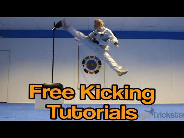 Taekwondo Kicking Tutorials Promo (Ginger Ninja Trickster) | How to Videos