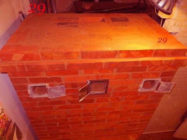 Печь кирпичная колпаковая 3 часть 24 30ряд