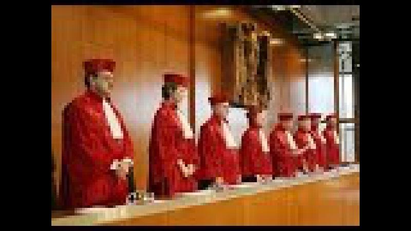 Rechtsbankrott Bundesverfassungsgericht der Bundesrepublik Deutschland 21. Januar 2016