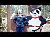 Дети и Родители: Активный отдых. Алеша в ПАНДА ПАРКЕ. Куда пойти с ребенком? Веревочный парк