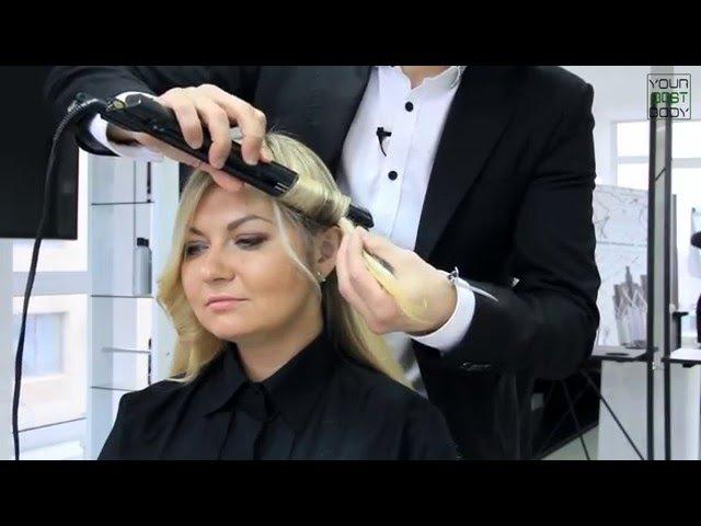 Объемные ЛОКОНЫ на утюжок | Быстрая и легкая укладка волос | Voluminous Curls | YourBestBlog