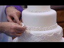 How to Make Your Own Fondant Wedding Cake Part 2 Global Sugar Art