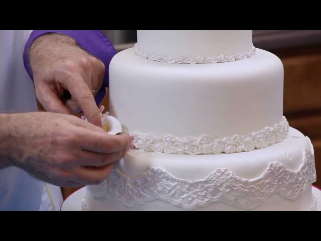 How to Make Your Own Fondant Wedding Cake | Part 2 | Global Sugar Art