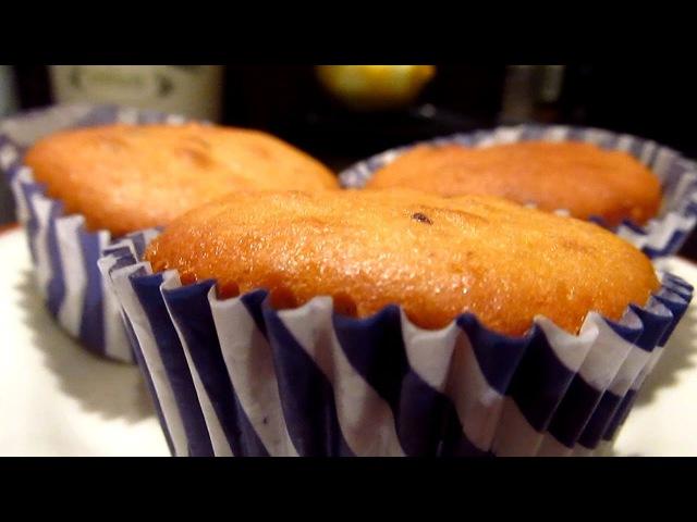 Как приготовить кексы с кусочками шоколада внутри