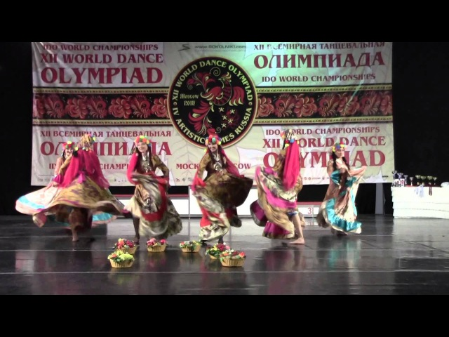 Феллахи Fellahi. Small group, folk. XII World Dance Olympiad 2015