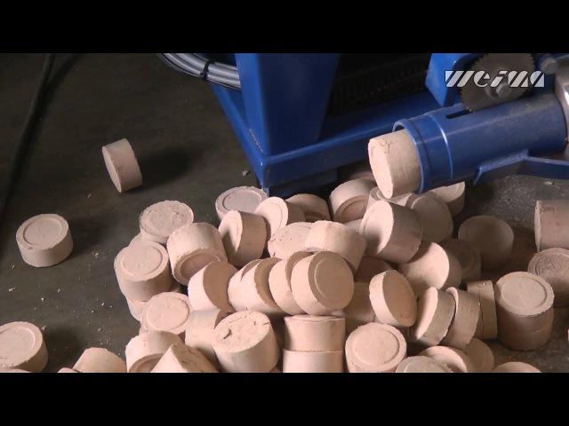 Производство брикетов из древесной пыли WEIMA