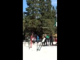 February 29 Fan taken video of Justin at Big Bear Mountain in California