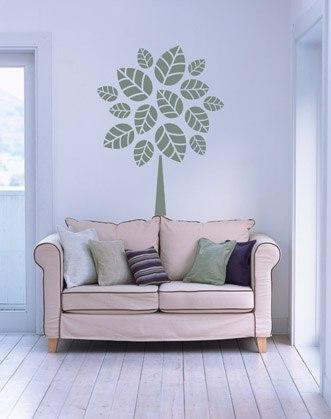 наклейки на стену фото, дерево на стене фото, стильное дерево фото, наклейка на стену дерево фото