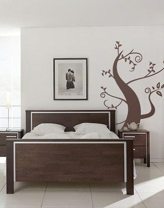 дерево на стене фото, волшебное дерево фото, дерево с завитками фото, наклейка на стену дерево фото, извилистое дерево фото